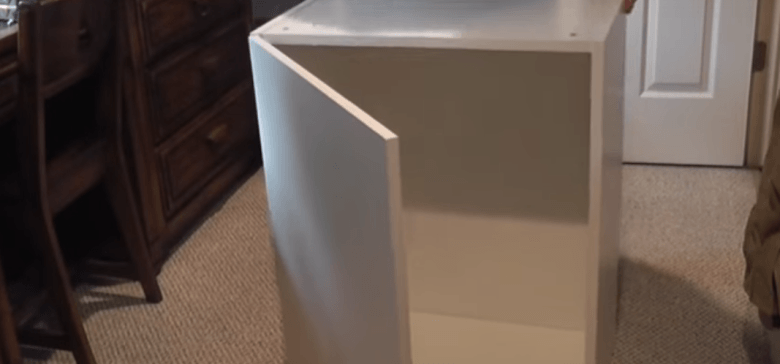 He Takes 7 Ikea Kitchen Cabinets And Makes This For His