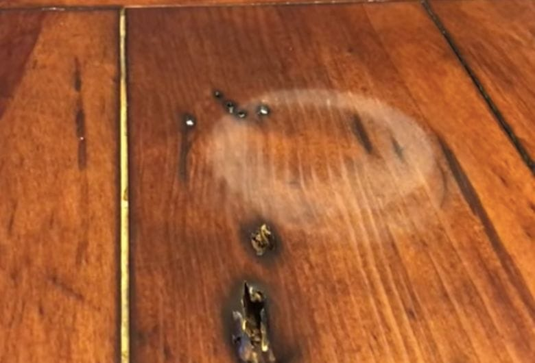 This Is How You Remove Water Marks From Your Wooden Table