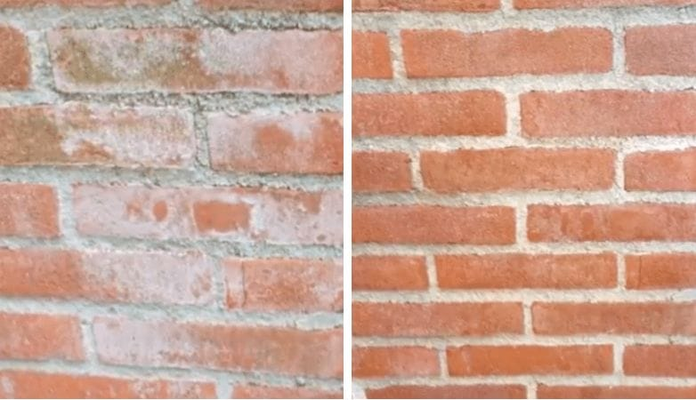 Got White Stains On Your Brick Wall Or Garden Tiles With This Trick You Can Easily Get Rid Of Them