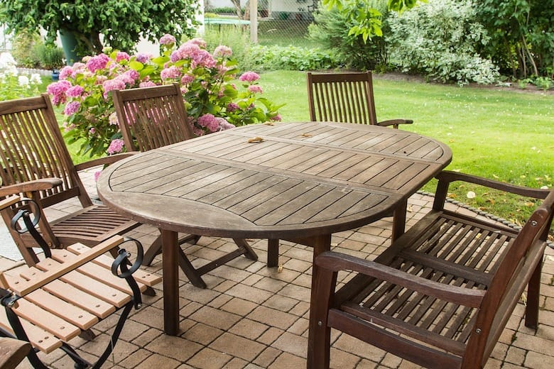 Your Wood Patio Furniture Will Look Amazing Again